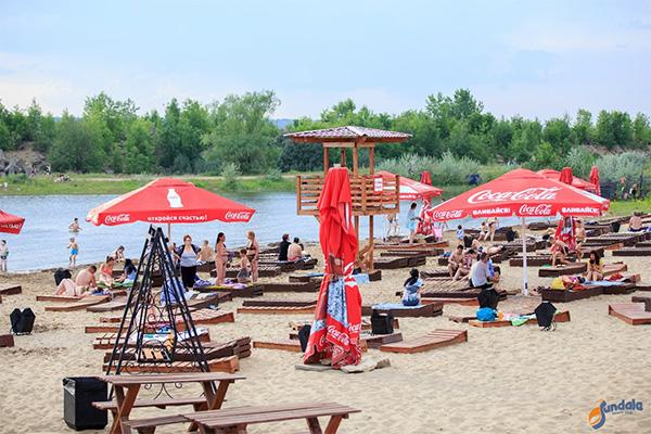 "Фото: пляжный клуб (beach club) ""Сандали | SunDale"""