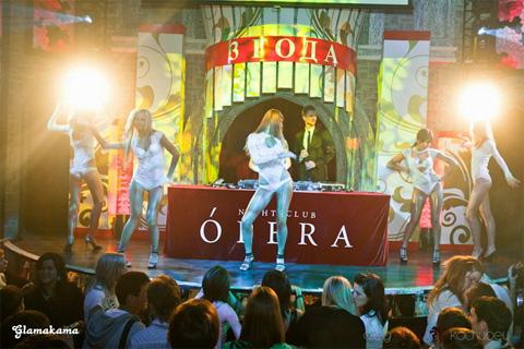 3 ярких ночи в честь 3-ех летия клуба Опера!