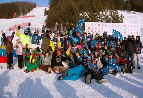 В Набережных Челнах состоялся 5-ый этап серии соревнований для сноубордистов Ростелеком 13 Parks Tour!