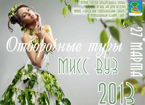 «Мисс ВУЗ – 2013». Красота, ум, талант!