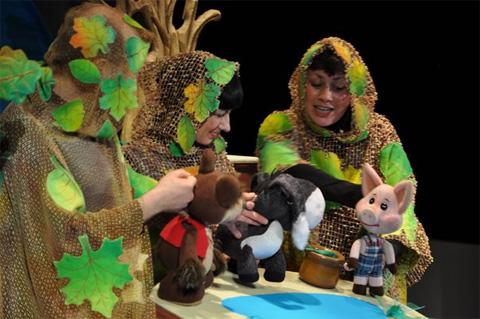 Набережночелнинский театр кукол вернулся с гастролей!