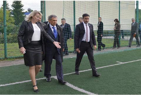 Президент РТ пообещал ФК «КАМАЗ» денег для выхода в первый дивизион