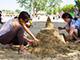 В Набережных Челнах прошел первый городской фестиваль «Песочный город»