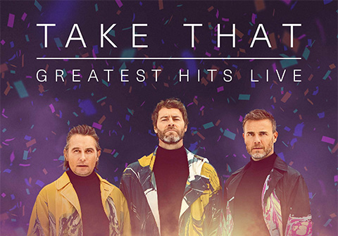 29 июня в кинотеатре СИНЕМА ПАРК в ТРЦ Торговый Квартал пройдет уникальный концерт Take That: Greatest Hits Live